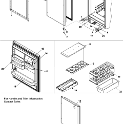 Jenn Air Refrigerator Parts Diagram Solar Panel Inverter Wiring Model Jb2028pehb Sears