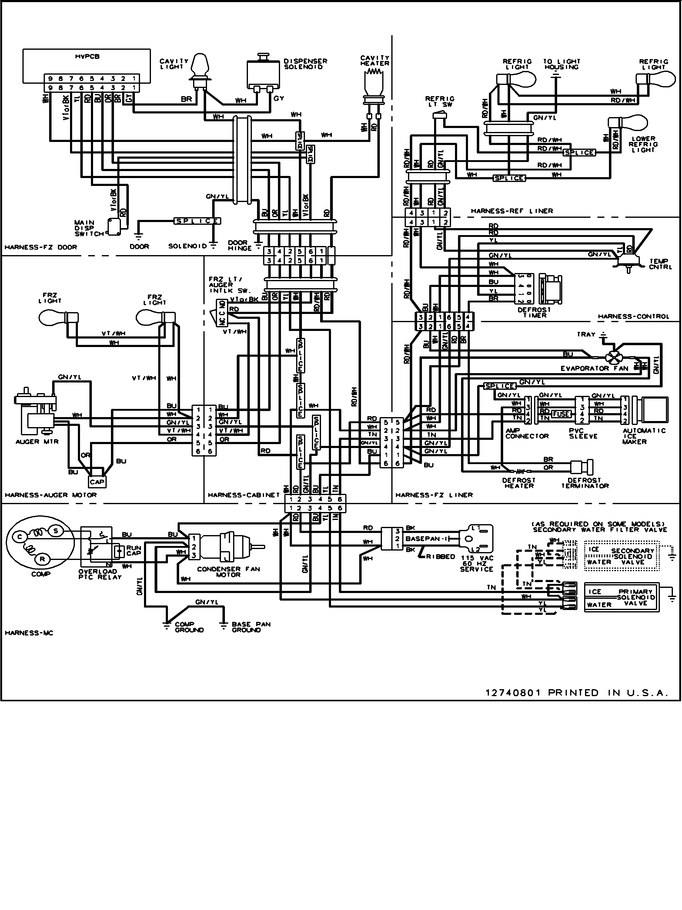 Refrigerator Thermostat Wiring Diagram