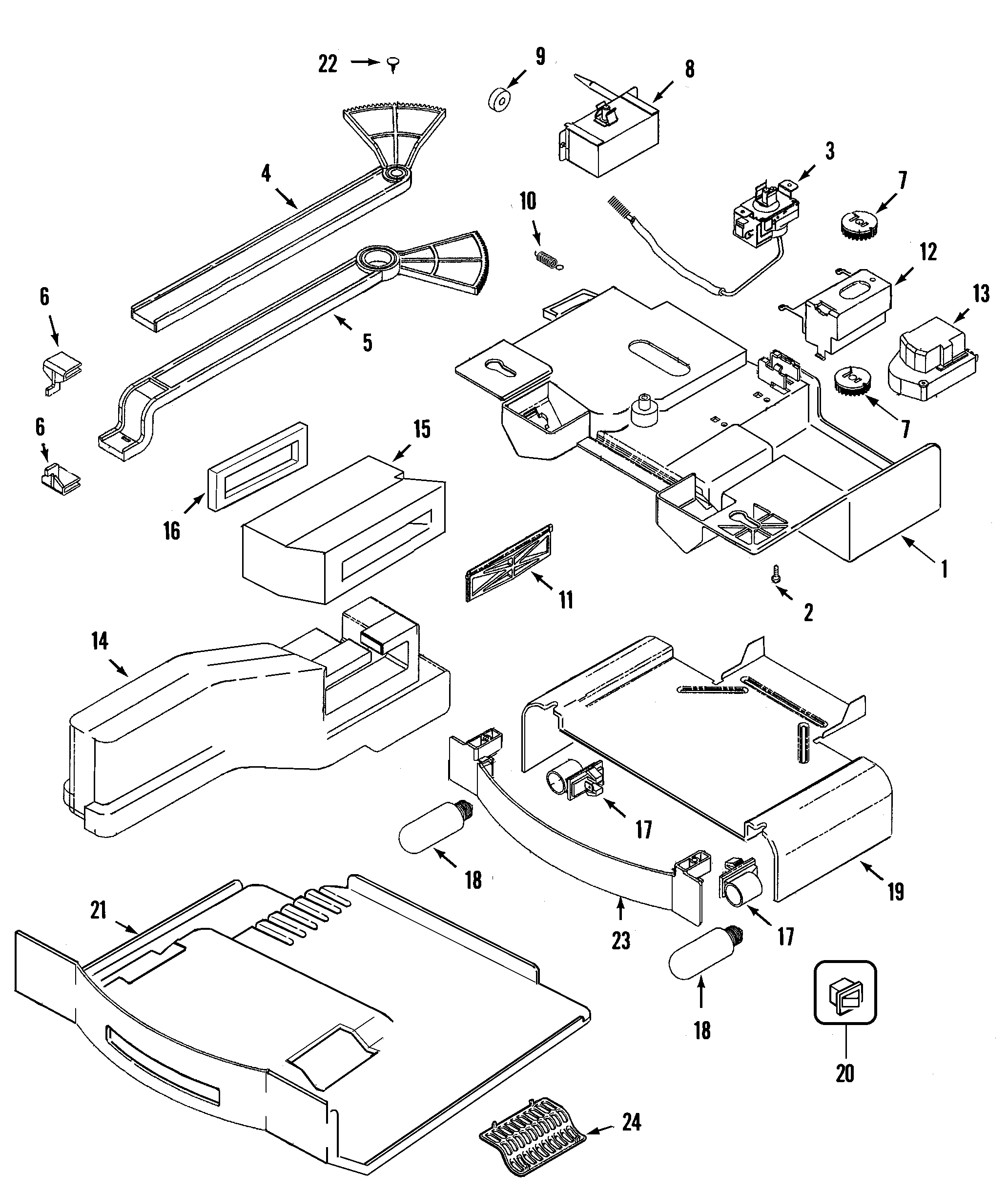 Sophisticated frigidaire ice maker parts diagram pictures best m0407325 00002 frigidaire ice maker parts diagr y ice machine wiring diagram 4k