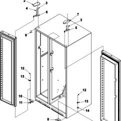 Jenn Air Refrigerator Parts Diagram 1981 Honda Cb750 Wiring Deli And Crisper Assy Model