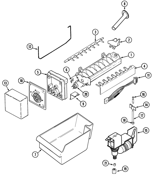 small resolution of  uline ice maker wiring diagram on ice maker troubleshooting ice maker solenoid ge ice