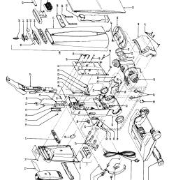 hoover u3321 outerbag diagram [ 2195 x 2857 Pixel ]