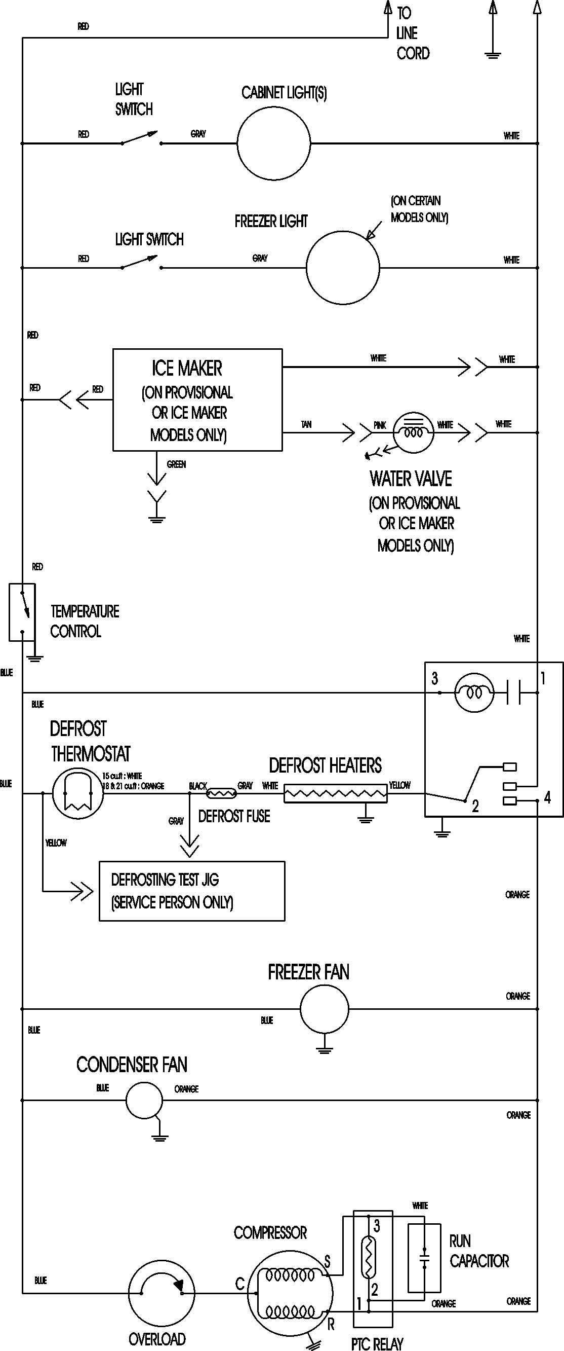 hight resolution of refrigeration wiring images