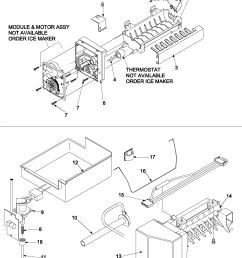 kenmore 59666952401 optional ice maker kit ic11b p1328003w diagram [ 2250 x 3000 Pixel ]