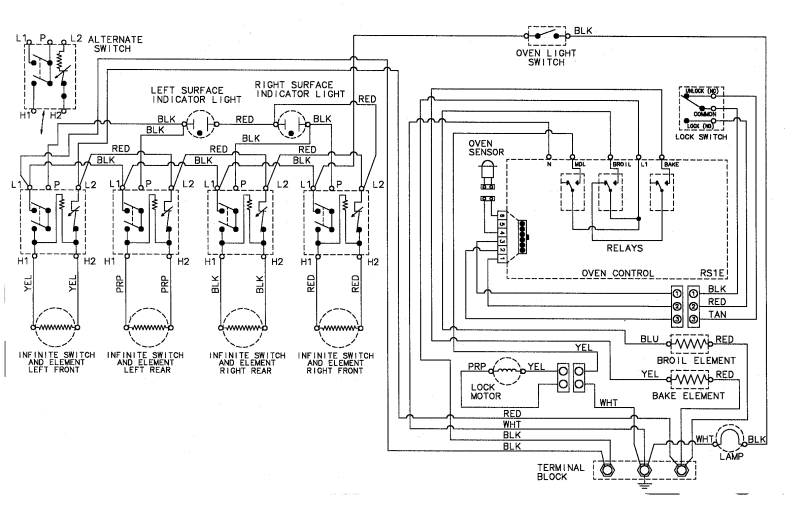 kenmore electric range parts diagram reviewmotors co kenmore gas stove wiring diagram schematic