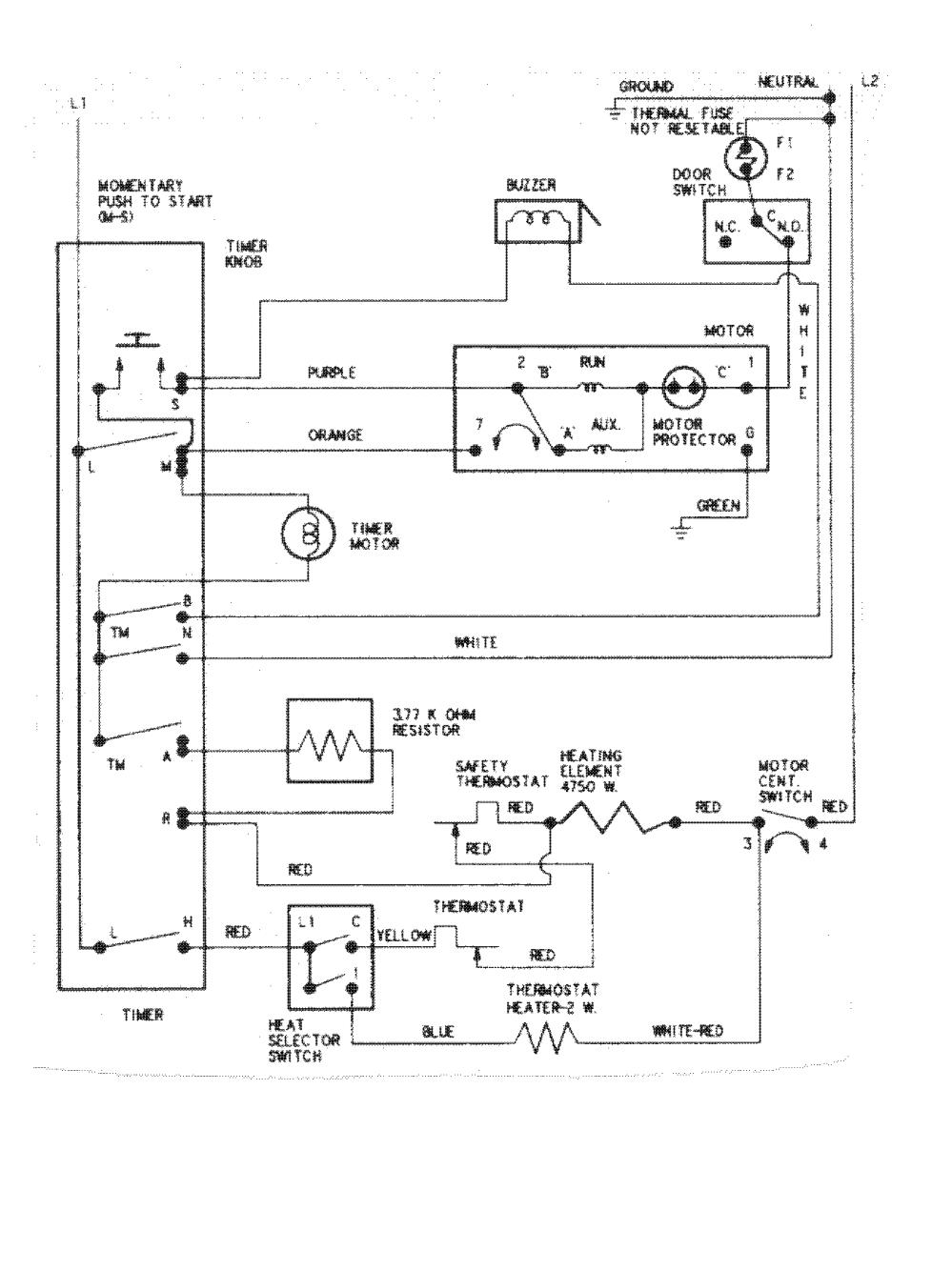 medium resolution of maytag model pyet244ayw residential dryer genuine parts maytag electric dryer wiring maytag dryer switch wiring diagram
