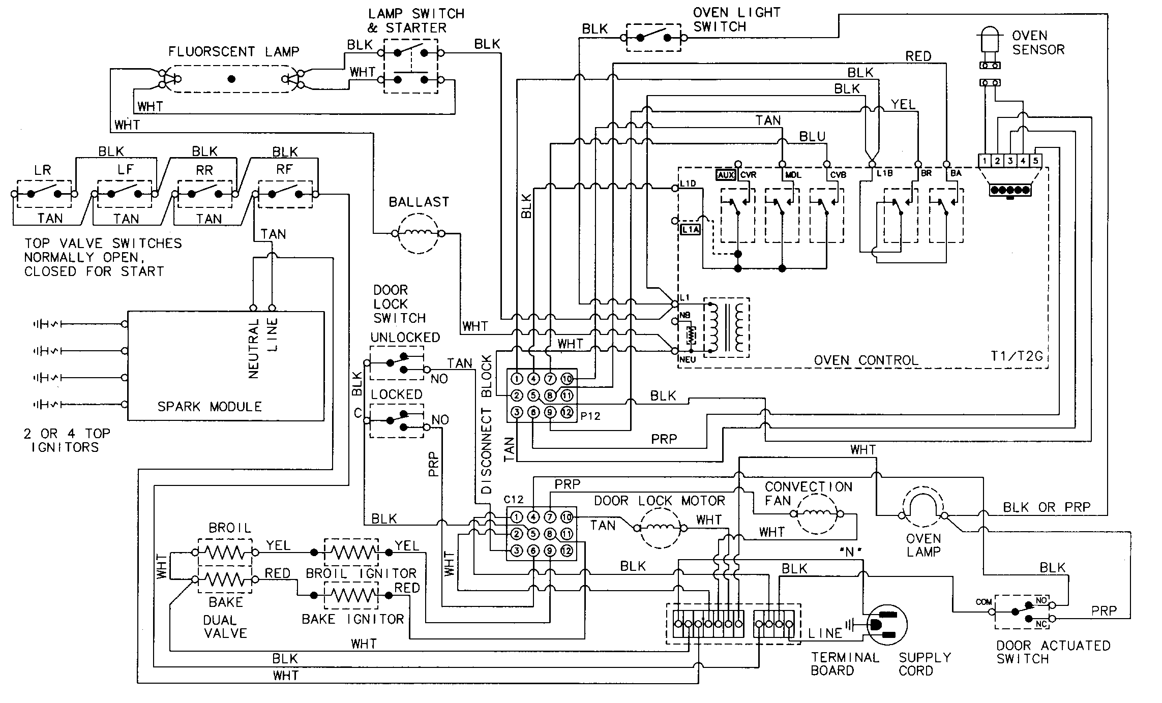 hight resolution of jenn air electric stove wiring diagram