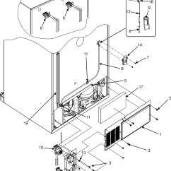 Jenn Air Refrigerator Parts Diagram Subwoofer Wire Water Dispenser Filter Model