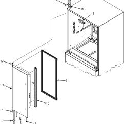 Jenn Air Refrigerator Parts Diagram Crosman Pellet Gun Left Door And List For Model