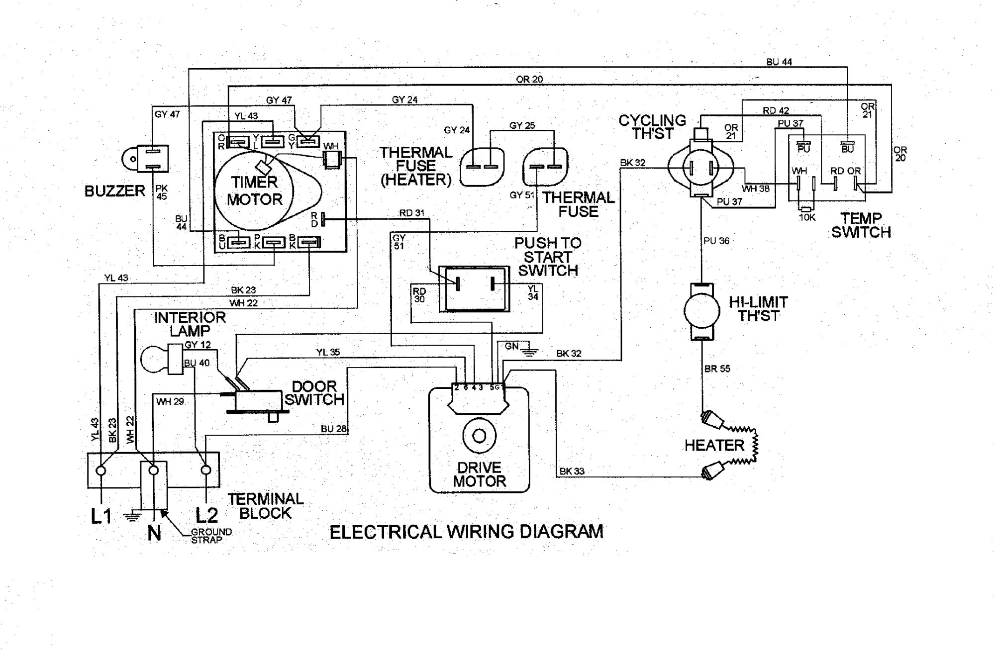 hight resolution of maytag dryer electrical schematic use wiring diagrammaytag dryer electrical diagram wiring diagram name maytag gas dryer