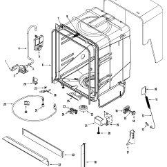 Maytag Dishwasher Wiring Diagram Motion Sensor Control Panel Parts Model Mdbf550aww