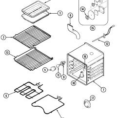 Jenn Air Refrigerator Parts Diagram 2002 Gmc Yukon Radio Wiring Range Library Oven