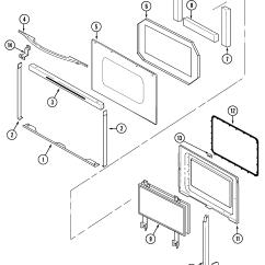 Jenn Air Refrigerator Parts Diagram Gfs Wiring Electric Slide In Range Model Sve47600b