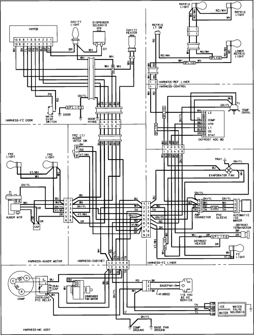 small resolution of wiring amana diagram bba24a2 wiring diagram wiring ptc amana diagram 153d50arda