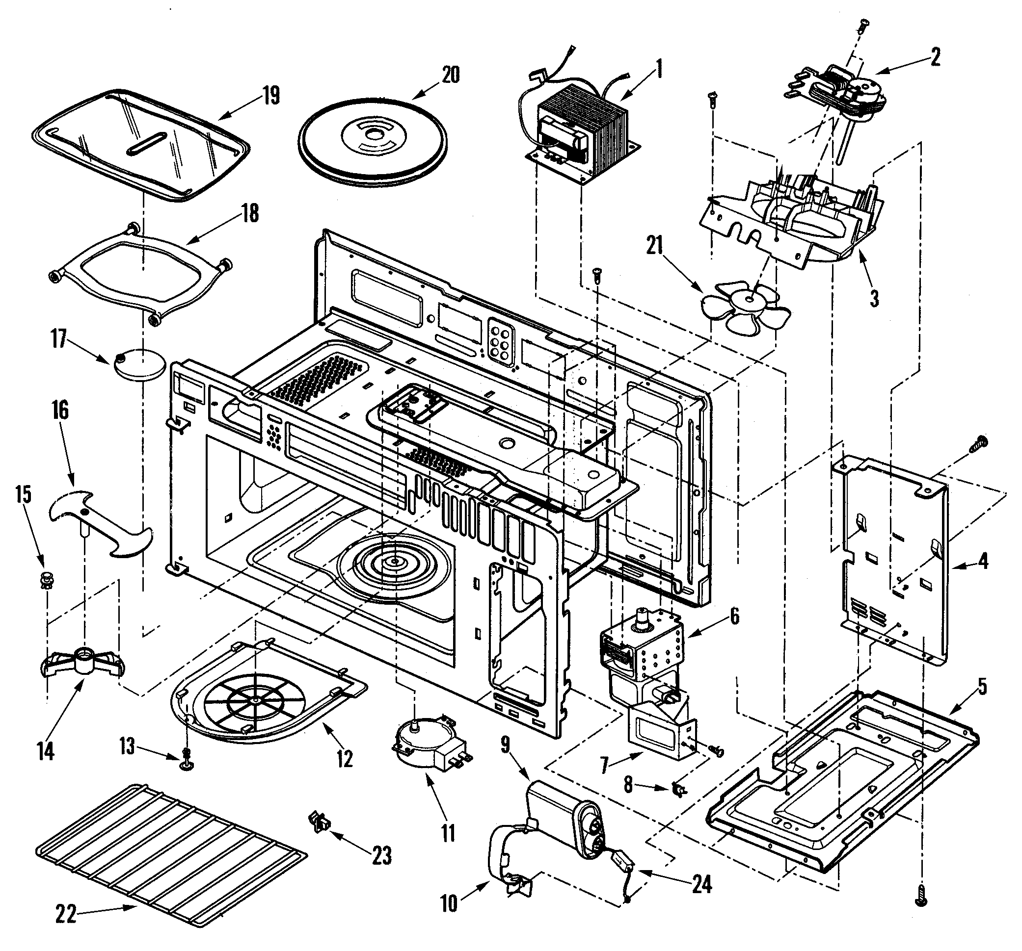 Maytag Microwave Replacement Parts