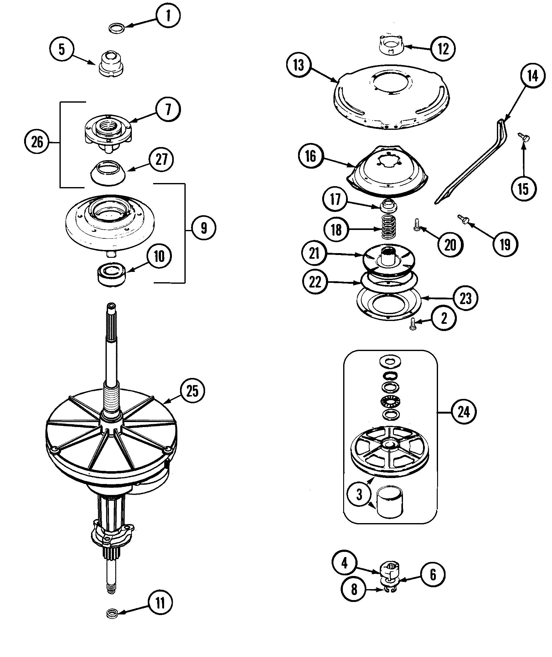hight resolution of maytag model mav7600aww residential washers genuine parts maytag bravos washer wiring diagrams maytag washer diagram