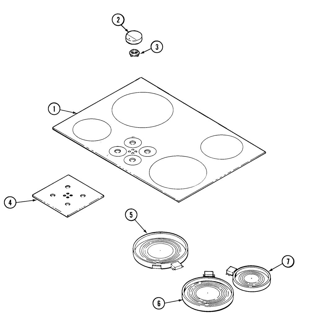 medium resolution of jenn air cce3401b top assembly diagram