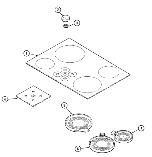 small resolution of jenn air cce3401b top assembly diagram
