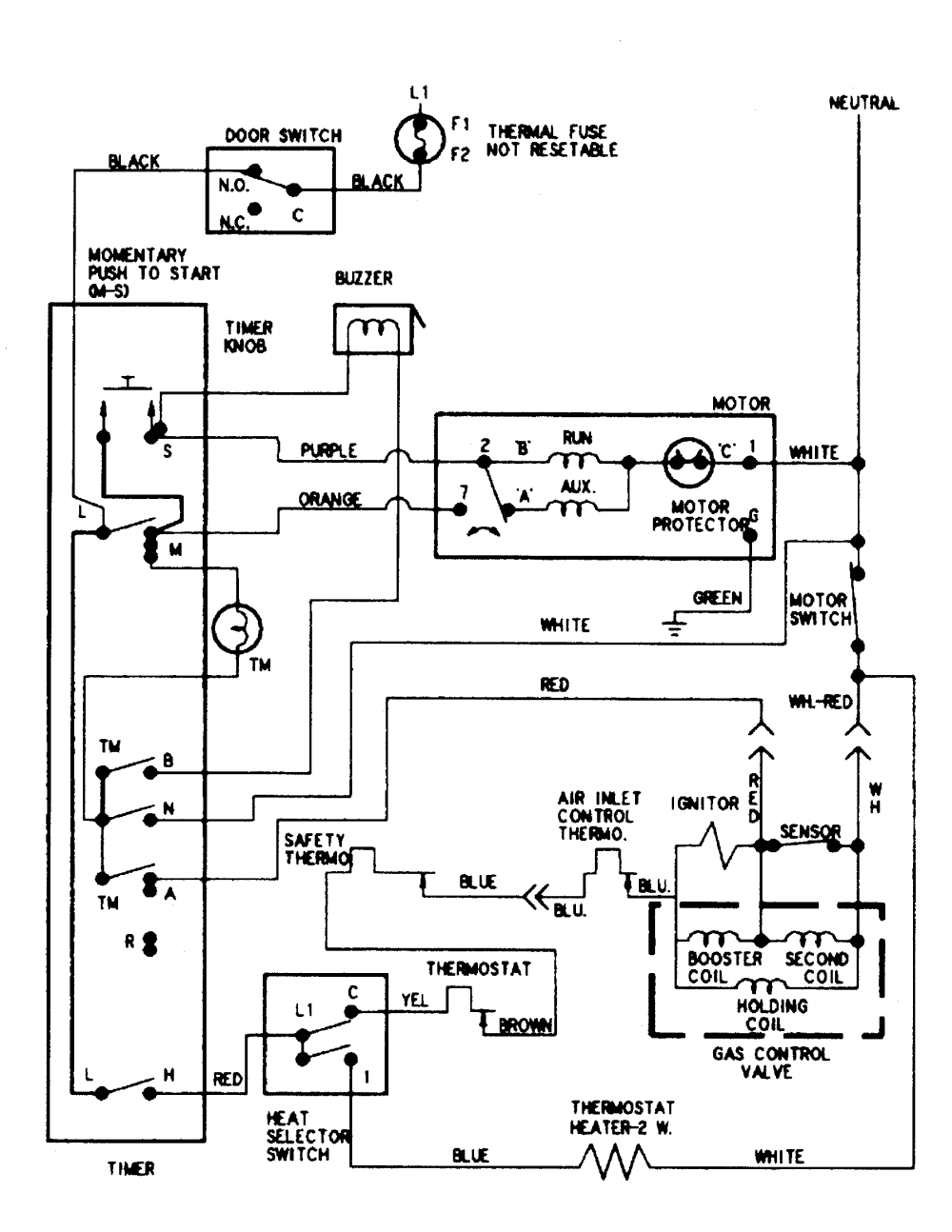 medium resolution of maytag dryer maytag dryer wiring diagrammaytag dryer wiring diagram images