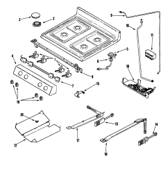 wiring diagram for gas top stove [ 2268 x 2782 Pixel ]