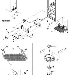 amana abb2524dew evaporator area rollers diagram [ 2401 x 3167 Pixel ]