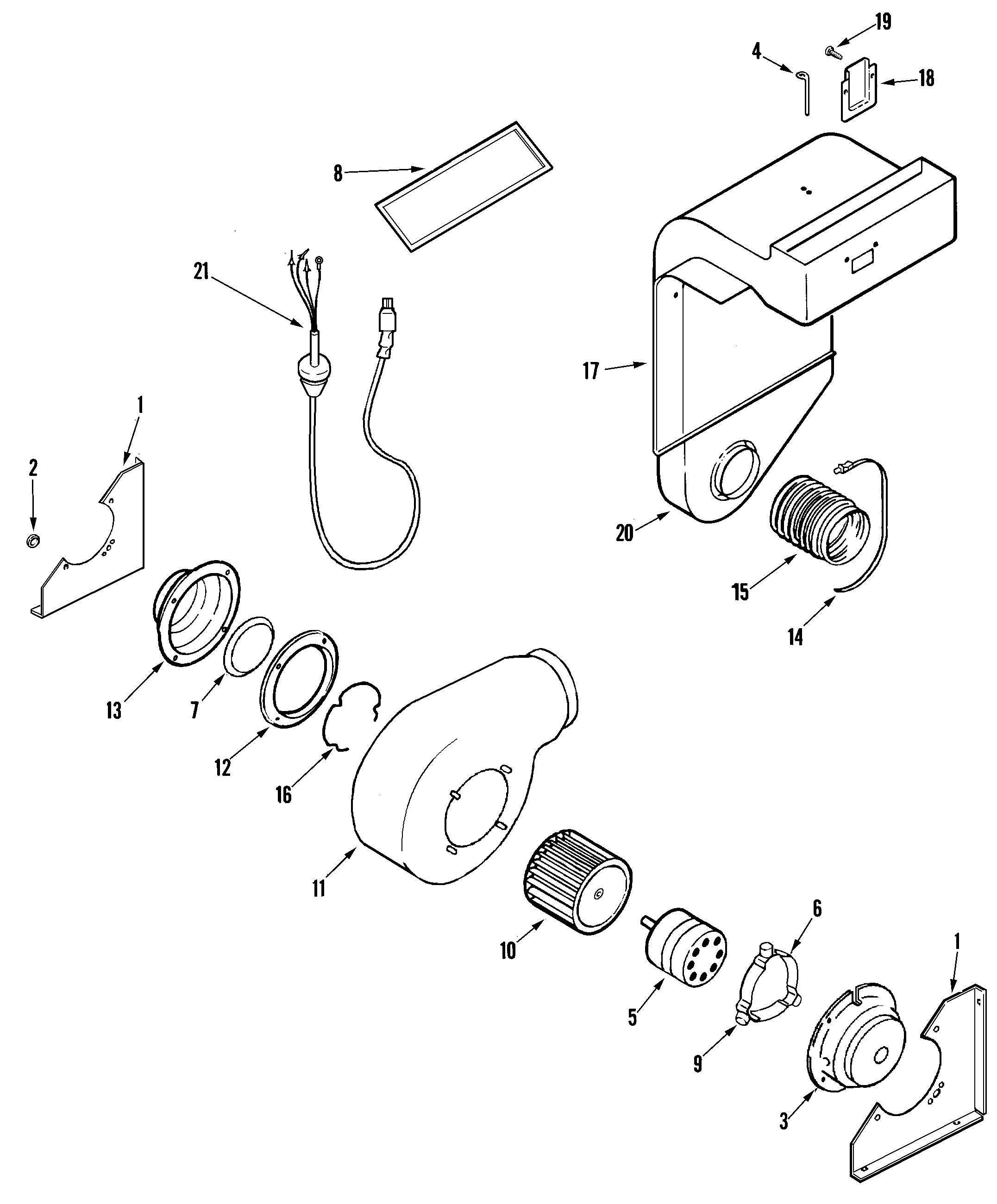 JENN-AIR Electric Range Control panel/top assembl