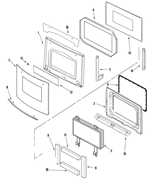 small resolution of jenn air jjw9527ddb door diagram