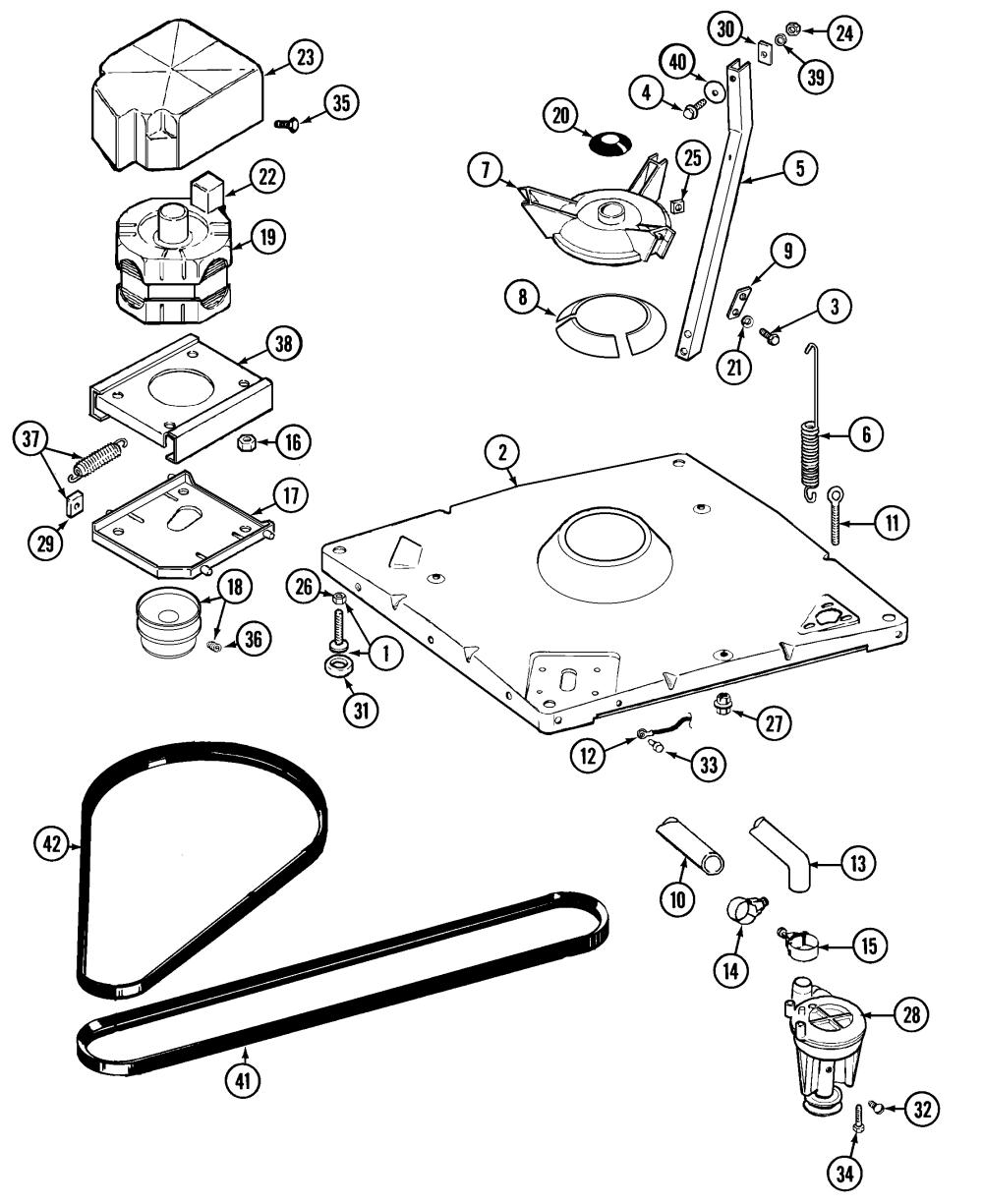 medium resolution of maytag washer wiring diagram wiring diagrammaytag model lat8234aae residential washers genuine parts model no a606 maytag
