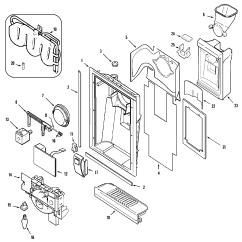 Jenn Air Refrigerator Parts Diagram Ho Train Wiring Diagrams Fountain And List For Model Jcd2389gew