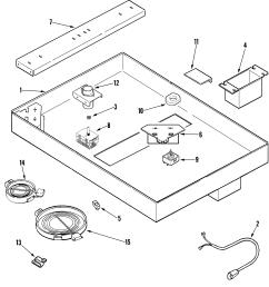 jenn air jed8430bdb body diagram [ 1844 x 1963 Pixel ]