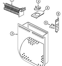 maytag hye3658ayw heater diagram [ 1281 x 1569 Pixel ]
