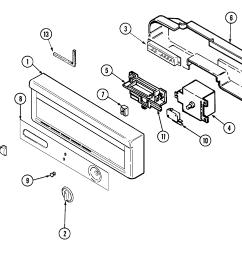 amana dishwasher wiring diagram [ 2394 x 2018 Pixel ]