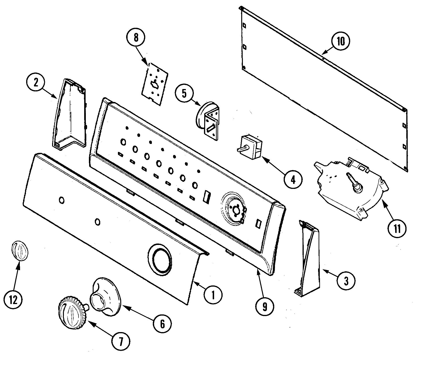 kenmore elite dishwasher wiring diagram 2006 subaru impreza ignition washing machine: admiral machine parts