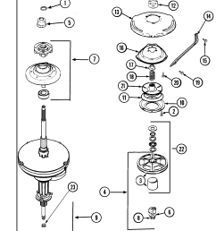 whirlpool cabrio washer diagram [ 1763 x 2100 Pixel ]