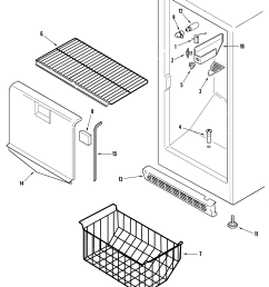 upright freezer compressor wiring diagram [ 2250 x 2764 Pixel ]