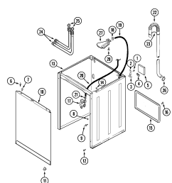 wiring information maytag pav2200aww cabinet diagram [ 1805 x 2169 Pixel ]