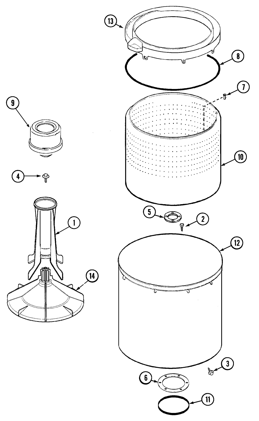 medium resolution of maytag pav2200aww tub pav2200 diagram