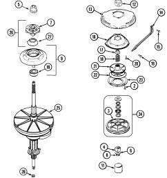 maytag pav2200aww transmission diagram [ 1763 x 2100 Pixel ]