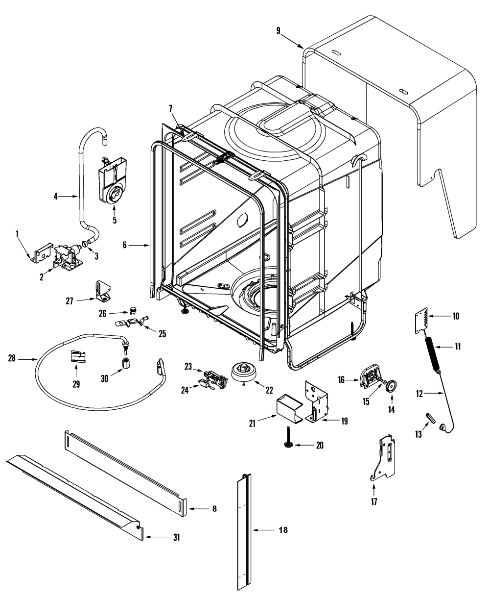 medium resolution of amana dishwasher adb1500aww parts diagram moreover amana dishwasher amana dishwasher motor diagram furthermore amana dishwasher adw662eac