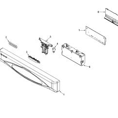Maytag Dishwasher Wiring Diagram Direct Tv Satellite Dish Parts Model Mdb6601aww Sears Partsdirect