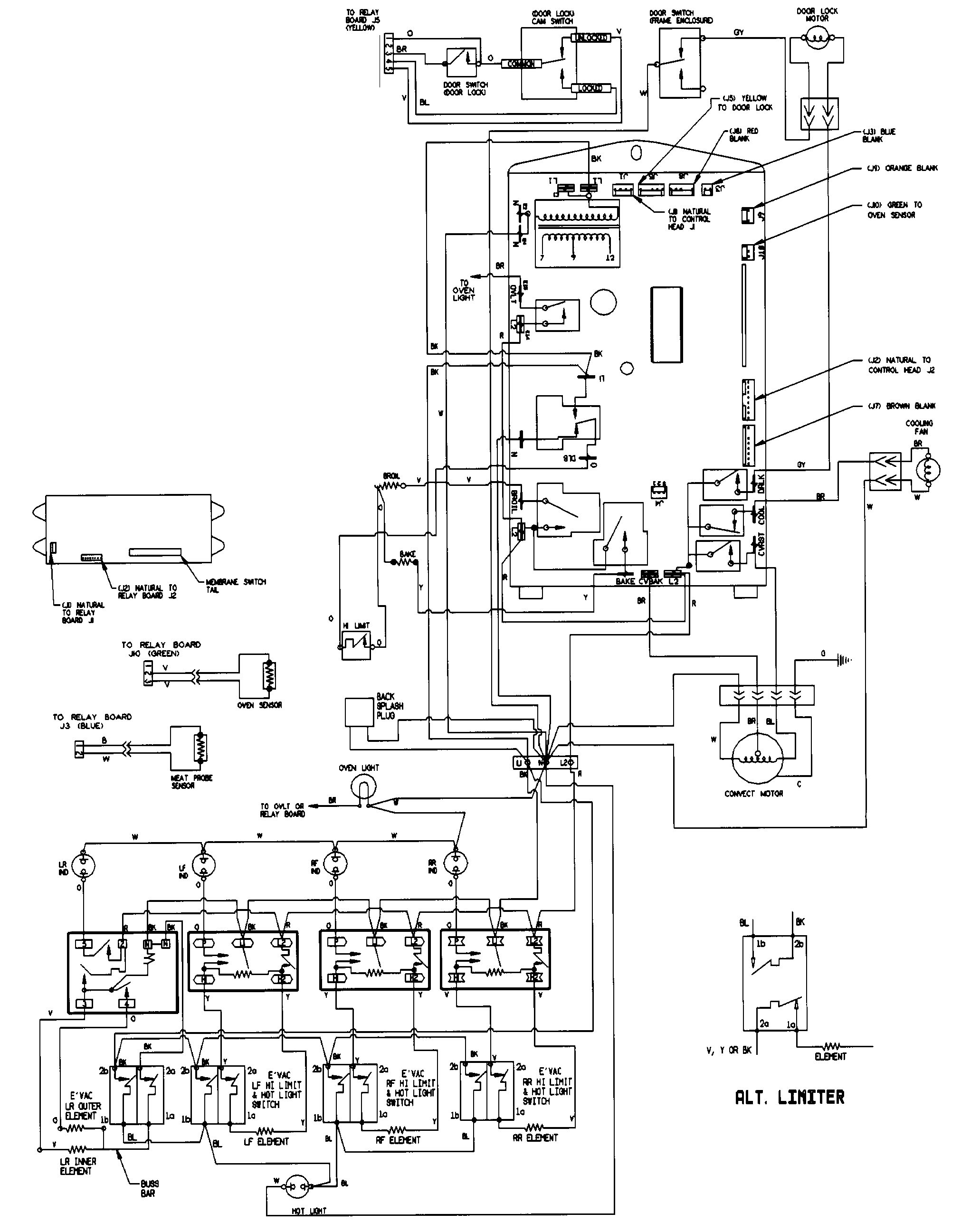 small resolution of cook top and light fan wiring diagram
