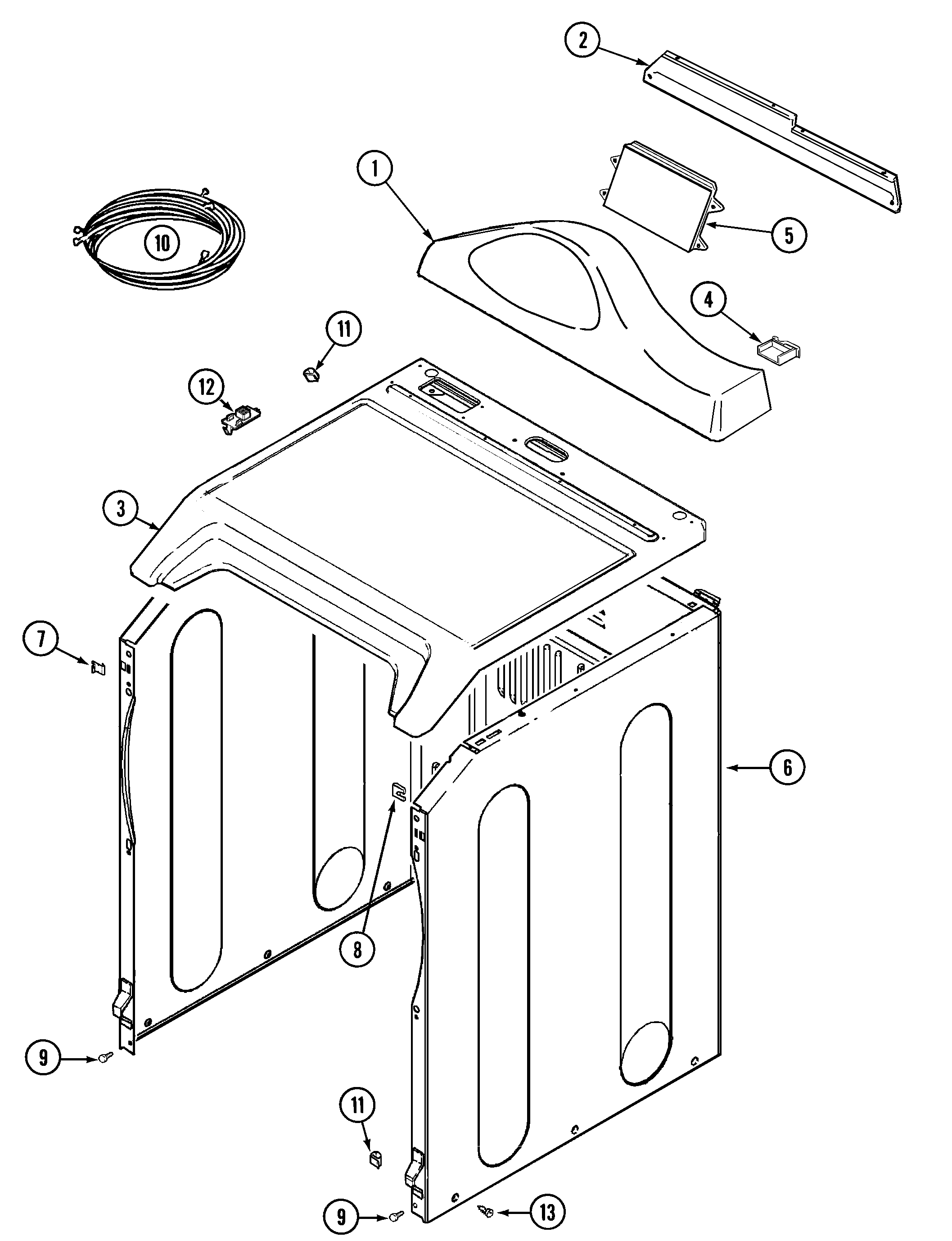 wiring information maytag mdg5500awq control panel cabinet diagram [ 2115 x 2756 Pixel ]