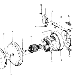 looking for hoover model s3509 canister vacuum repair u0026 replacementhoover s3509 motor assembly diagram [ 2431 x 1398 Pixel ]