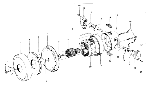small resolution of looking for hoover model s3509 canister vacuum repair u0026 replacementhoover s3509 motor assembly diagram