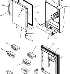 maytag mbf2256keb refrigerator door diagram [ 2023 x 2644 Pixel ]