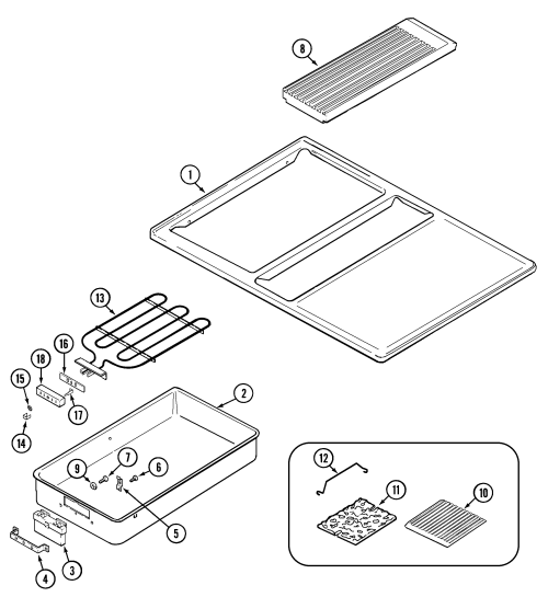 small resolution of jenn air sve47100w top assembly diagram