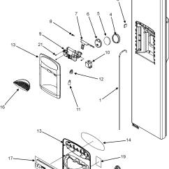 Msd Wiring Diagrams 2002 Nissan Sentra Se R Radio Diagram Maytag Refrigerator Ice Maker Parts | Model Msd2660kes Searspartsdirect