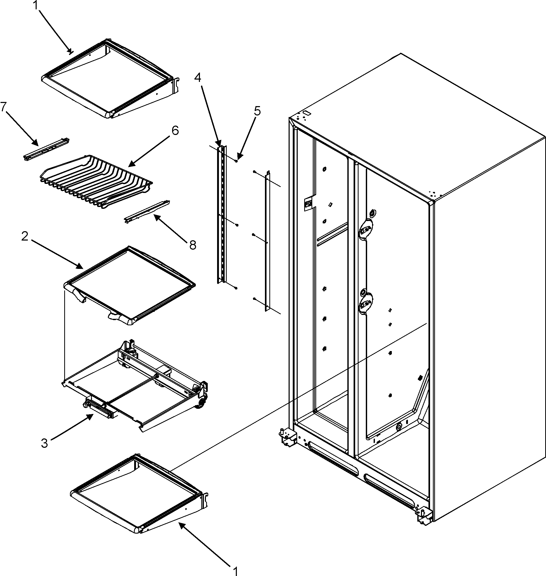 French Door Refrigerator: Maytag Refrigerator French Door