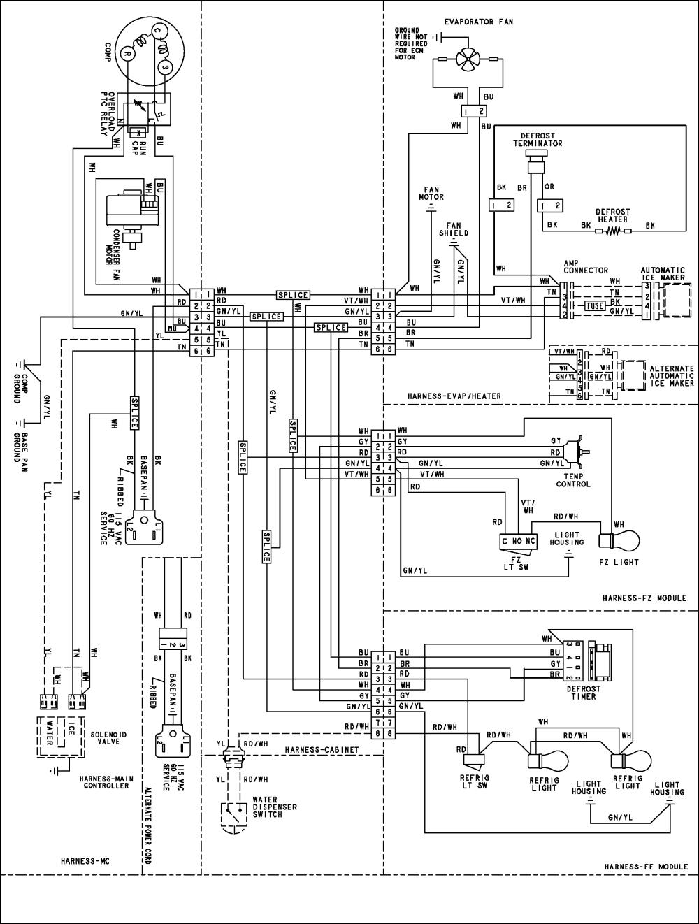 medium resolution of diagram kenmore side by side refrigerator parts diagram free ebook