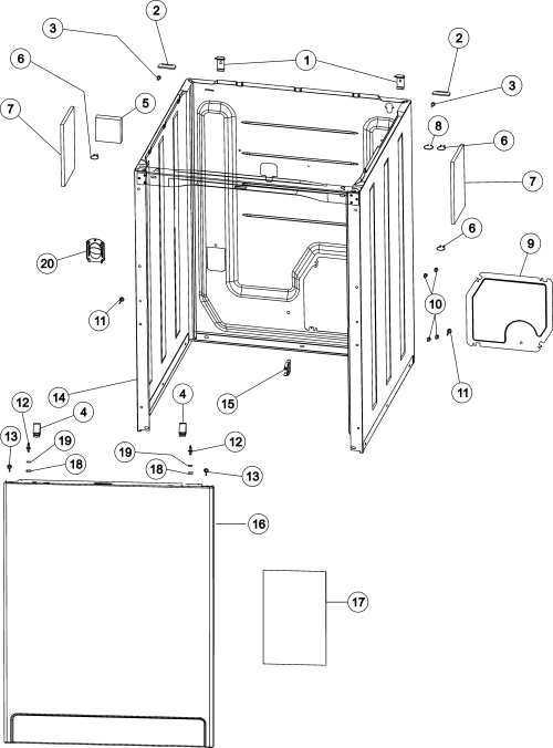 small resolution of wiring information maytag mav4757aww cabinet front panel diagram